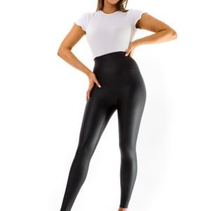 Ellon Leather Look Leggings